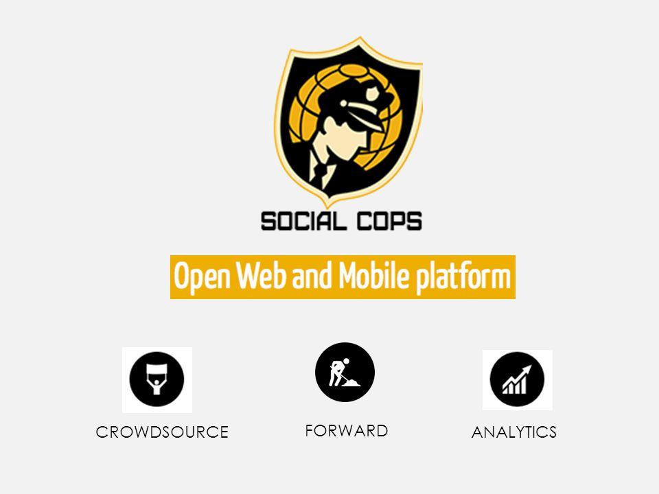 Web and Mobile Platform CROWDSOURCE FORWARD ANALYTICS