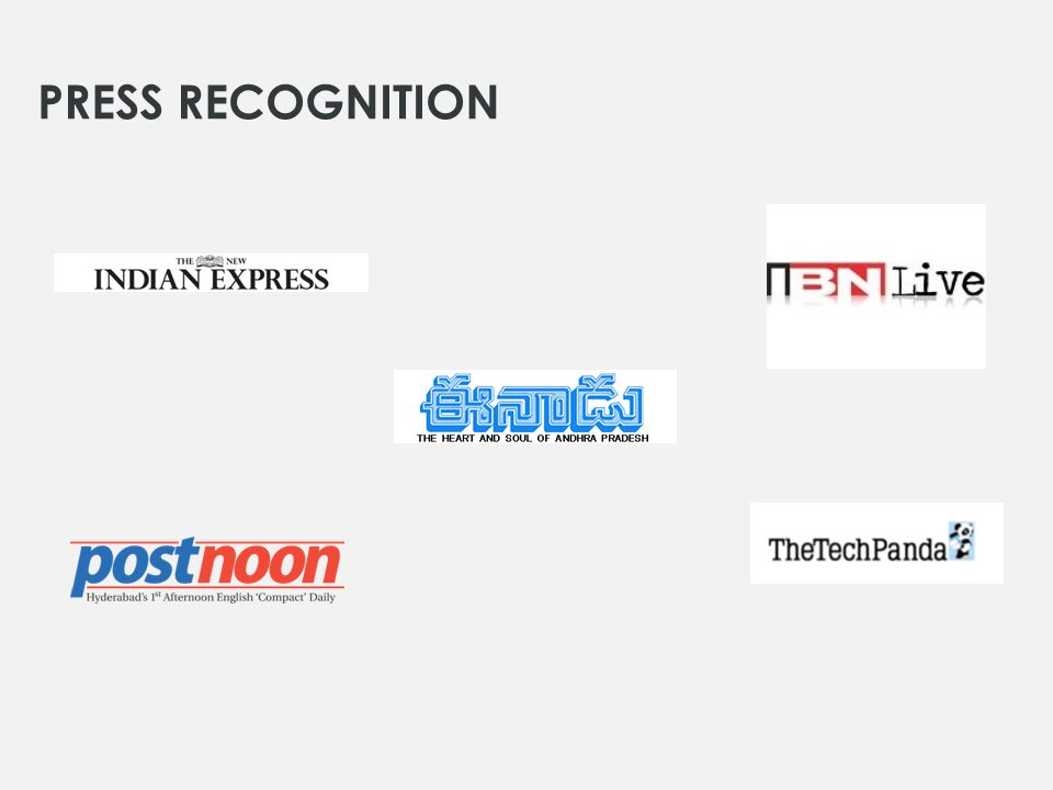 PRESS RECOGNITION