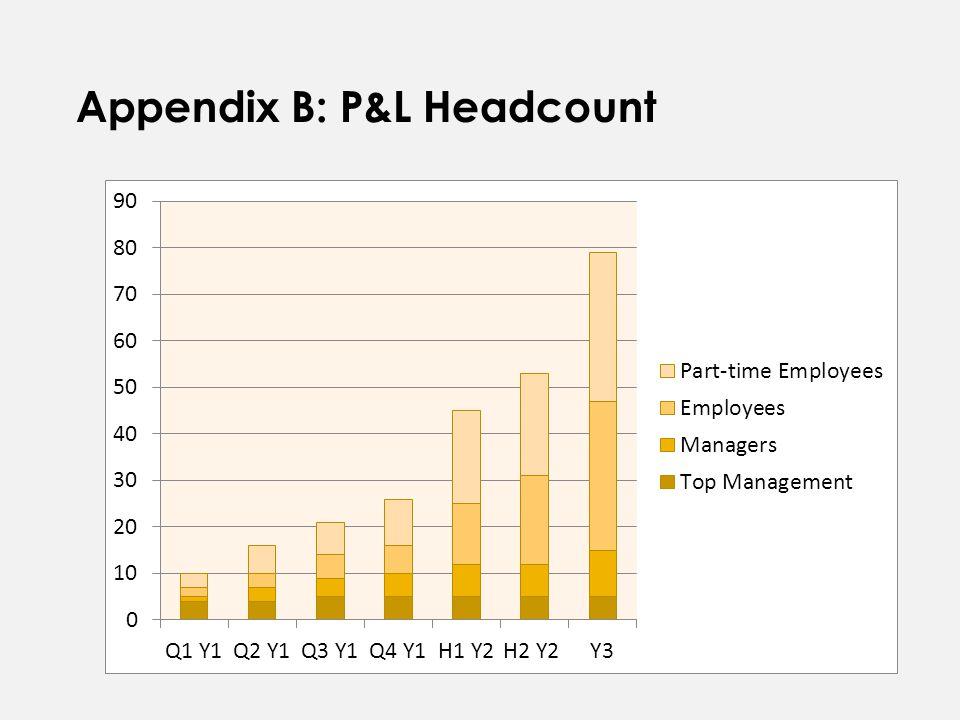 Appendix B: P&L Headcount