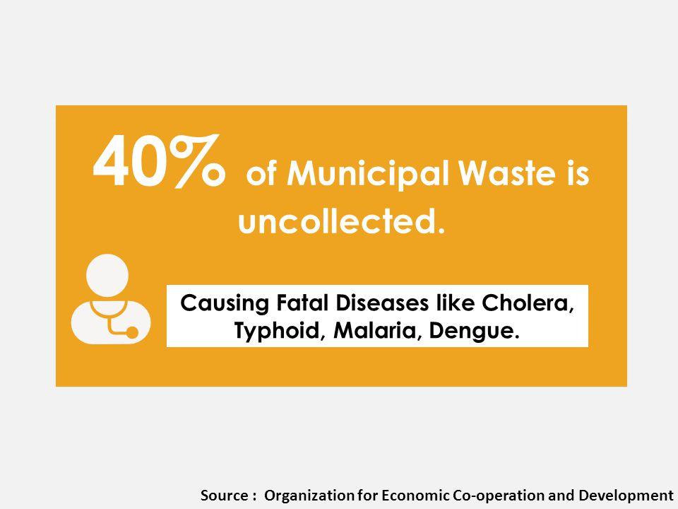 Causing Fatal Diseases like Cholera, Typhoid, Malaria, Dengue.