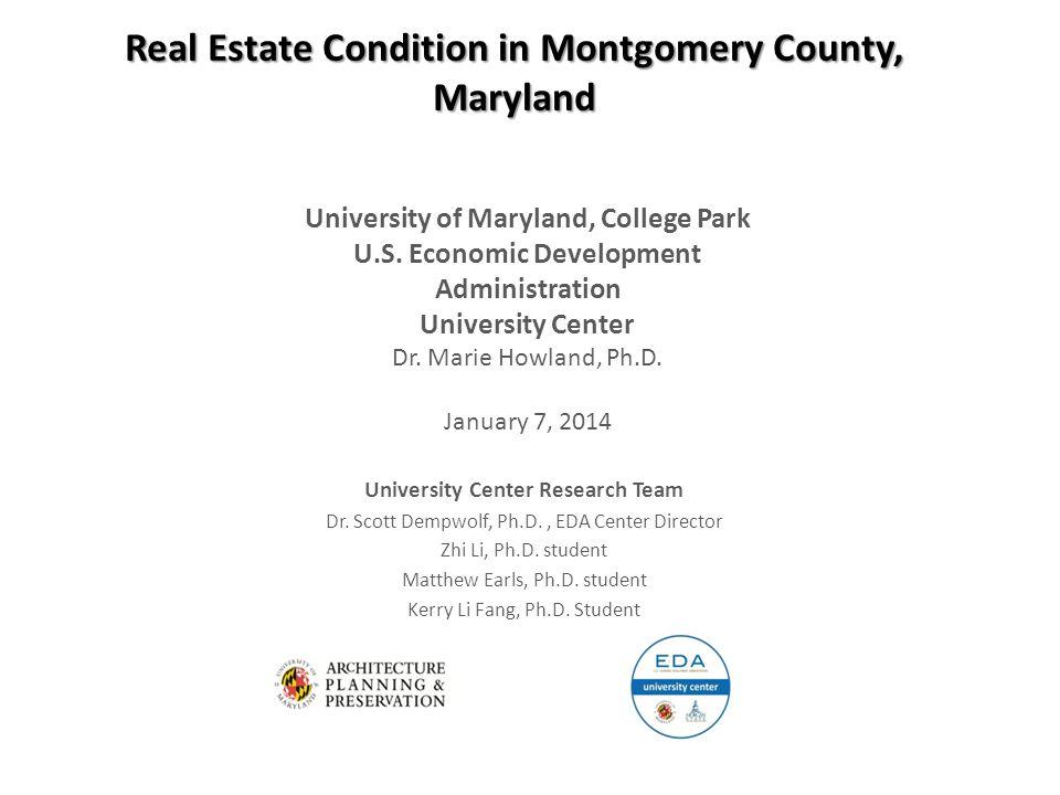 University Center Research Team Dr. Scott Dempwolf, Ph.D., EDA Center Director Zhi Li, Ph.D.
