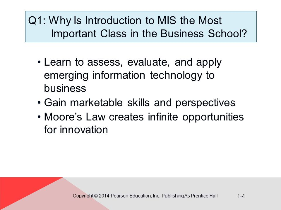 1-15 Q3: How Can You Use the Five- Component Model.