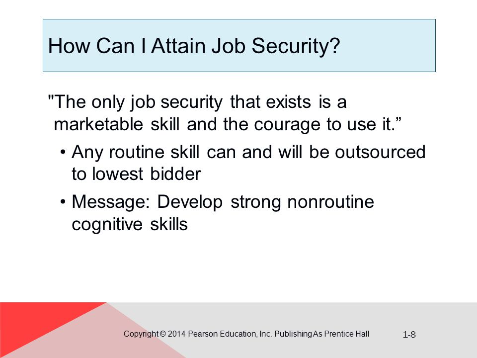 1-9 What Is a Marketable Skill.Copyright © 2014 Pearson Education, Inc.