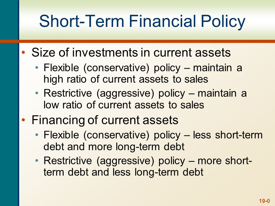 19-11 Short-Term Borrowing Unsecured Loans Line of credit Committed vs.