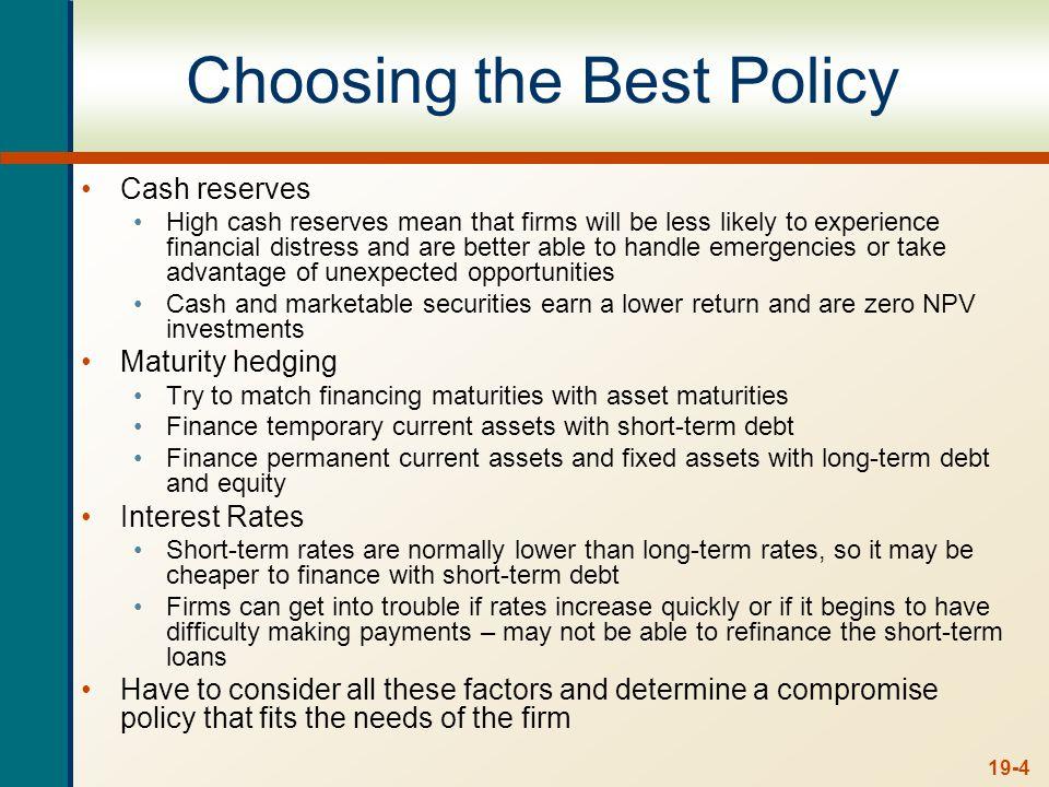 Cash Management 19-15