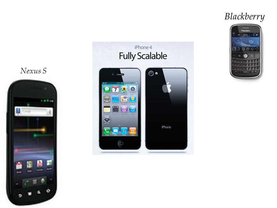 Smartphone Nexus S Blackberry