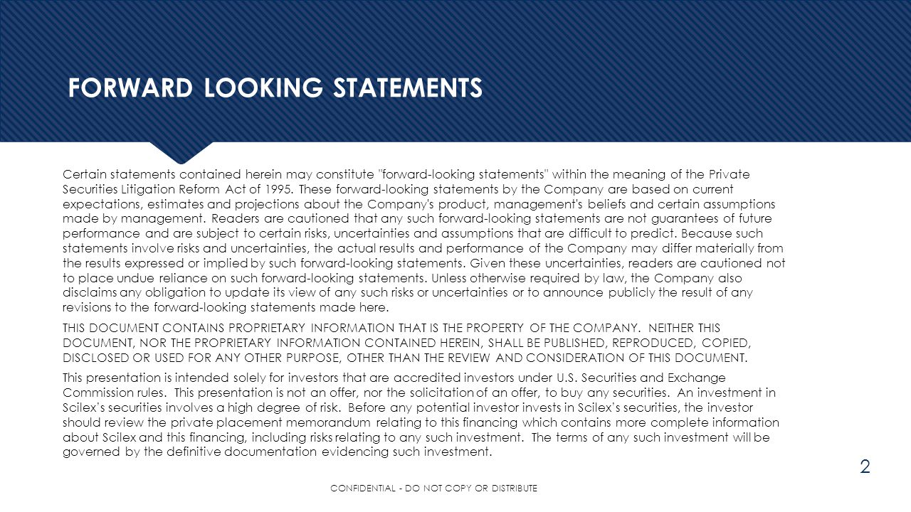 FORWARD LOOKING STATEMENTS Certain statements contained herein may constitute
