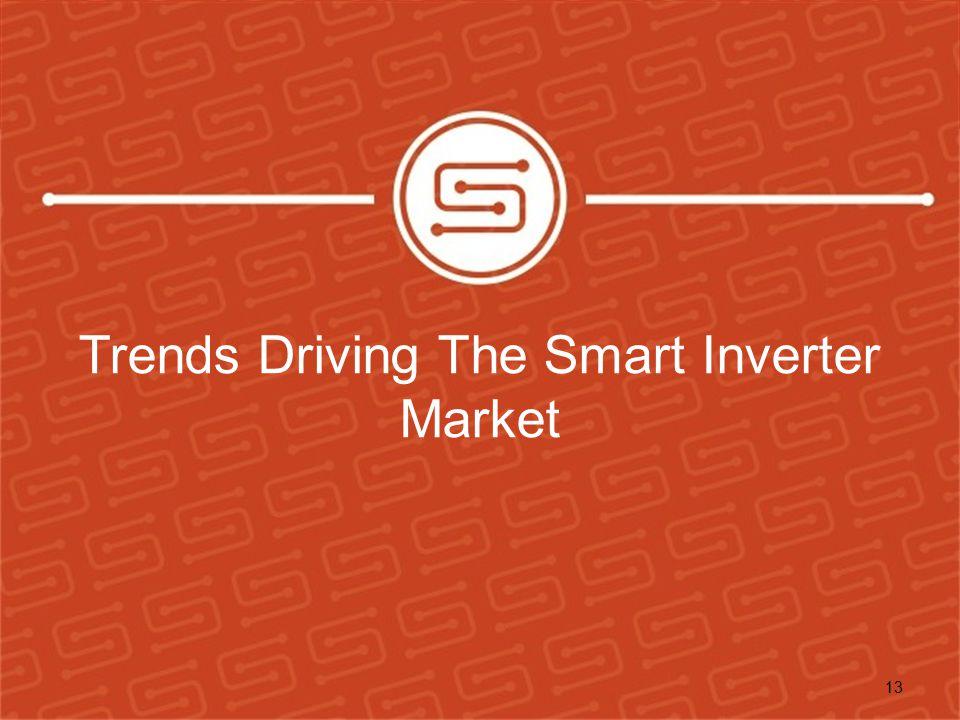 Trends Driving The Smart Inverter Market 13