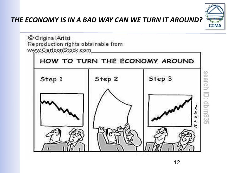 THE ECONOMY IS IN A BAD WAY CAN WE TURN IT AROUND? 12