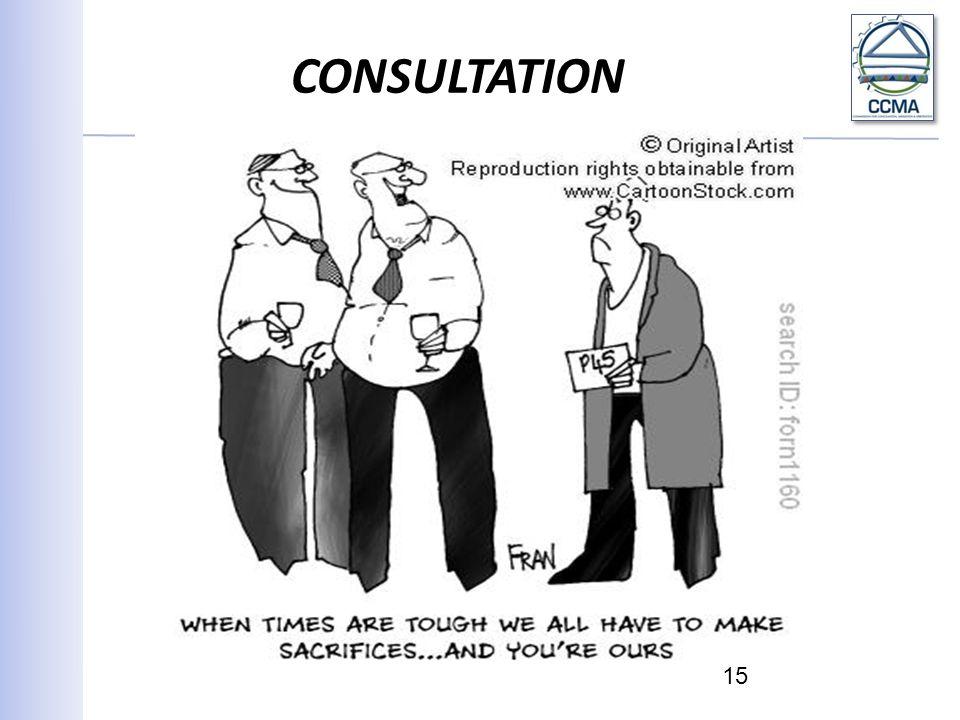 CONSULTATION 15