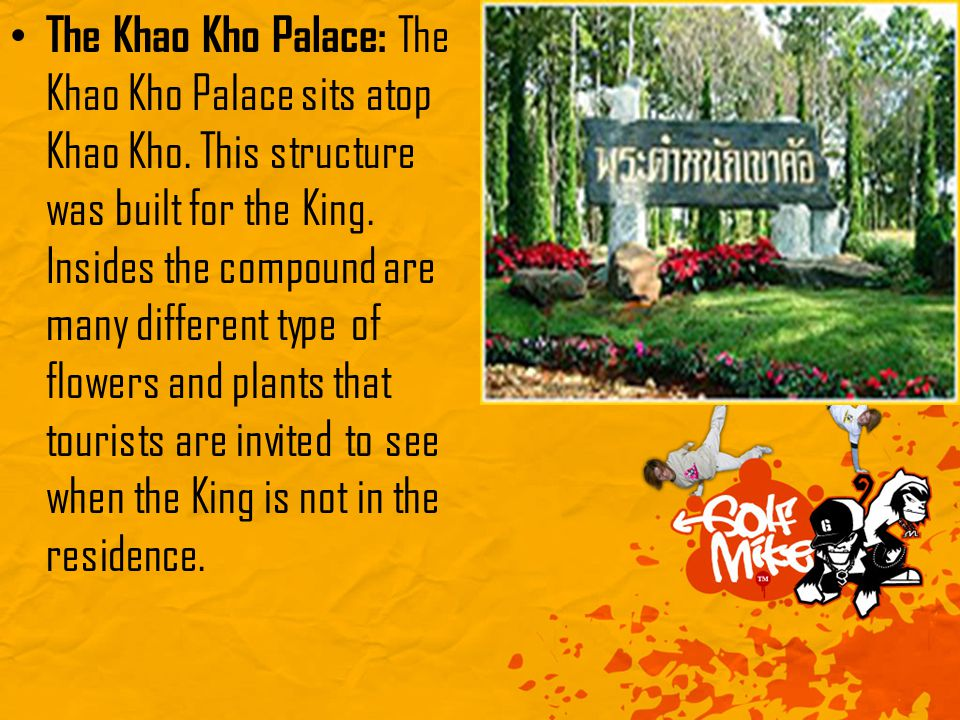 The Khao Kho Palace: The Khao Kho Palace sits atop Khao Kho.