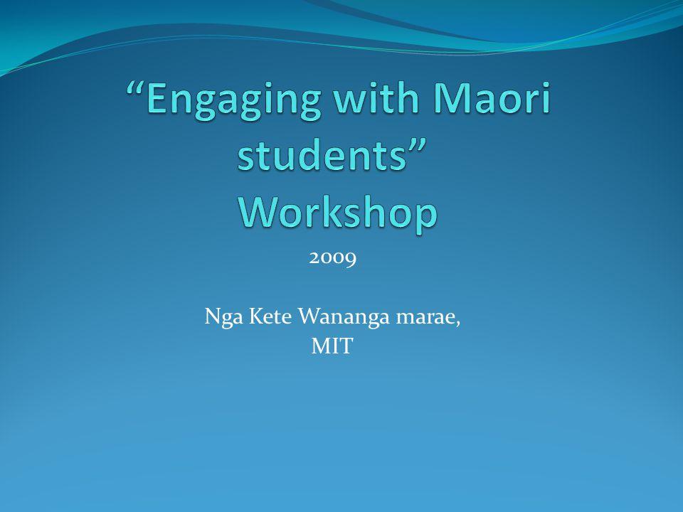 2009 Nga Kete Wananga marae, MIT