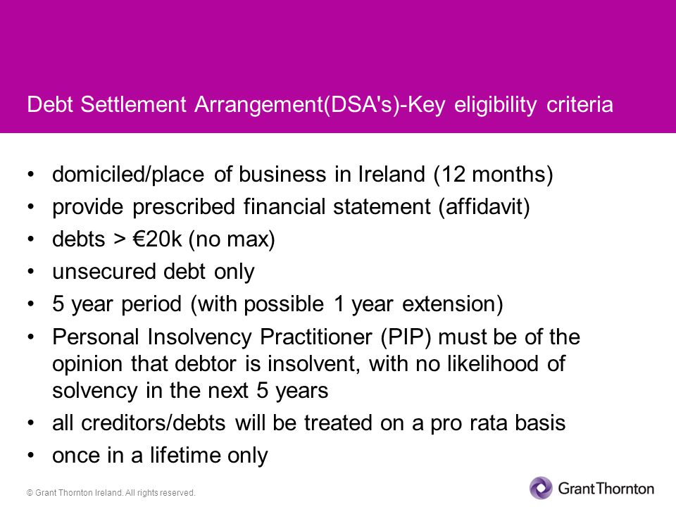 © Grant Thornton Ireland. All rights reserved.