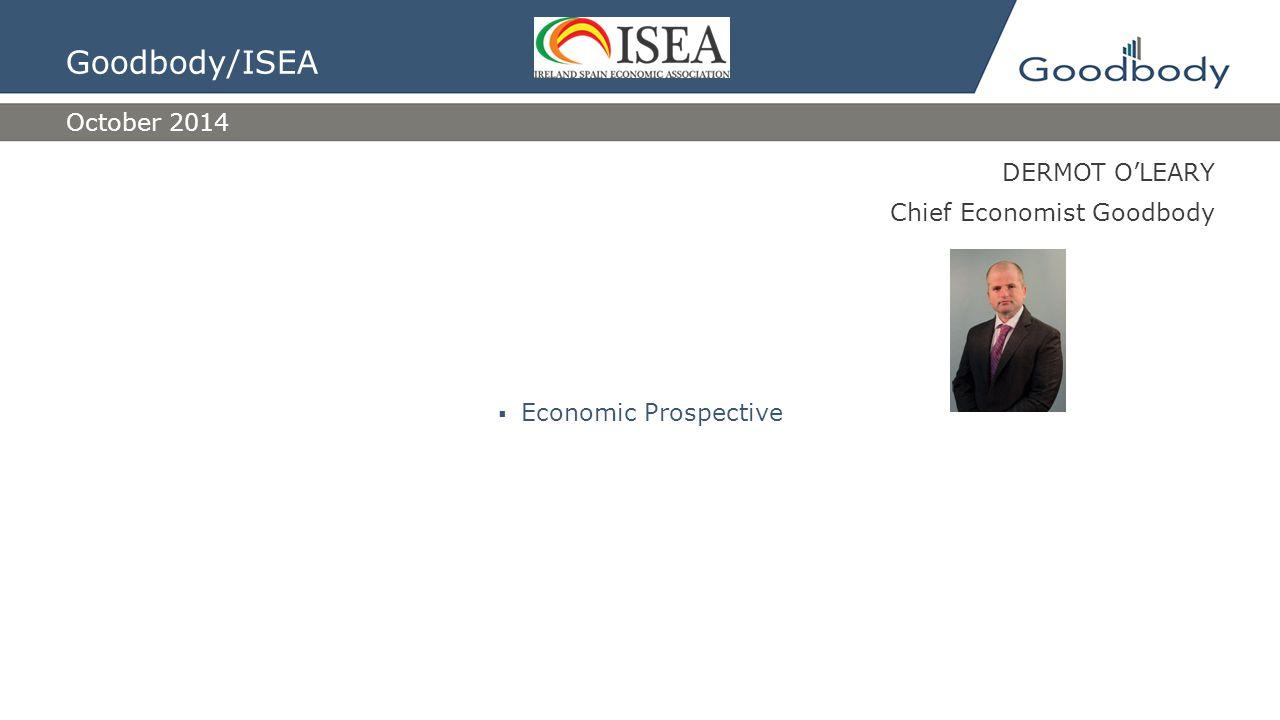 Goodbody and Pensions ISEA October 2014 Brendan McGinn, Director of Pensions