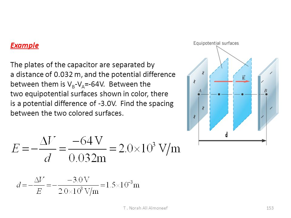 Capacitance The constant of proportionality C is the capacitance which is a property of the conductor Experiments show that the charge in a capacitor