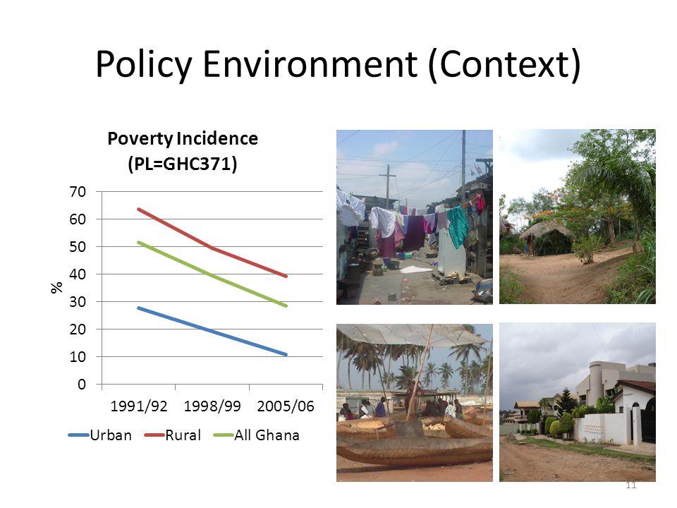 Policy Environment (Context) 11