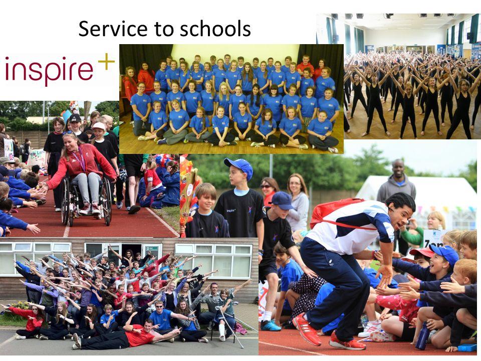 Service to schools