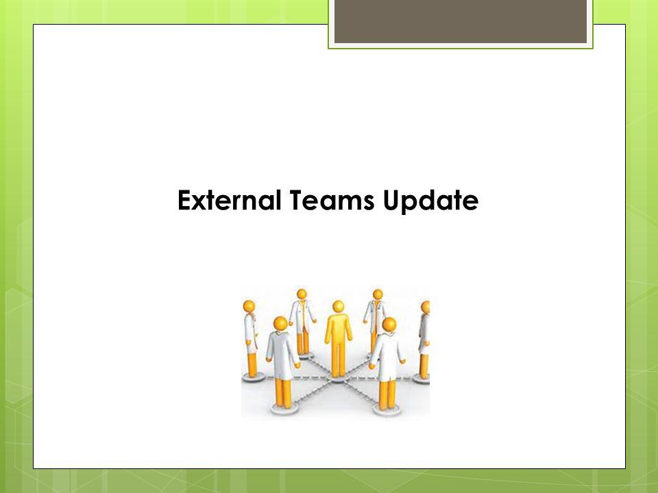 External Teams Update