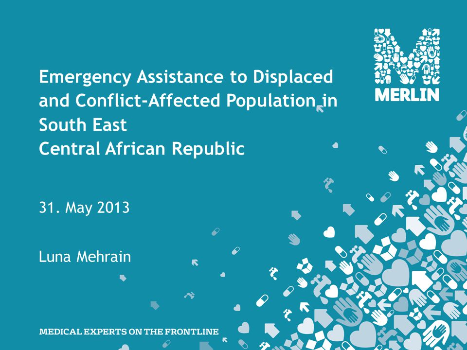 Emergency Assistance to Displaced and Conflict-Affected Population in South East Central African Republic 31.