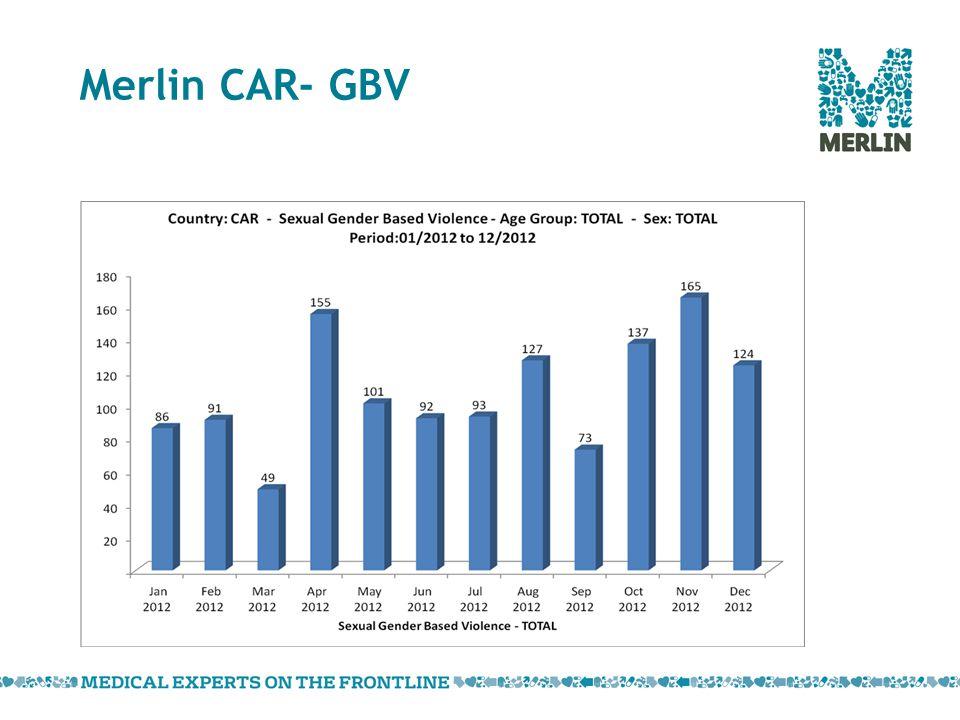 Merlin CAR- GBV