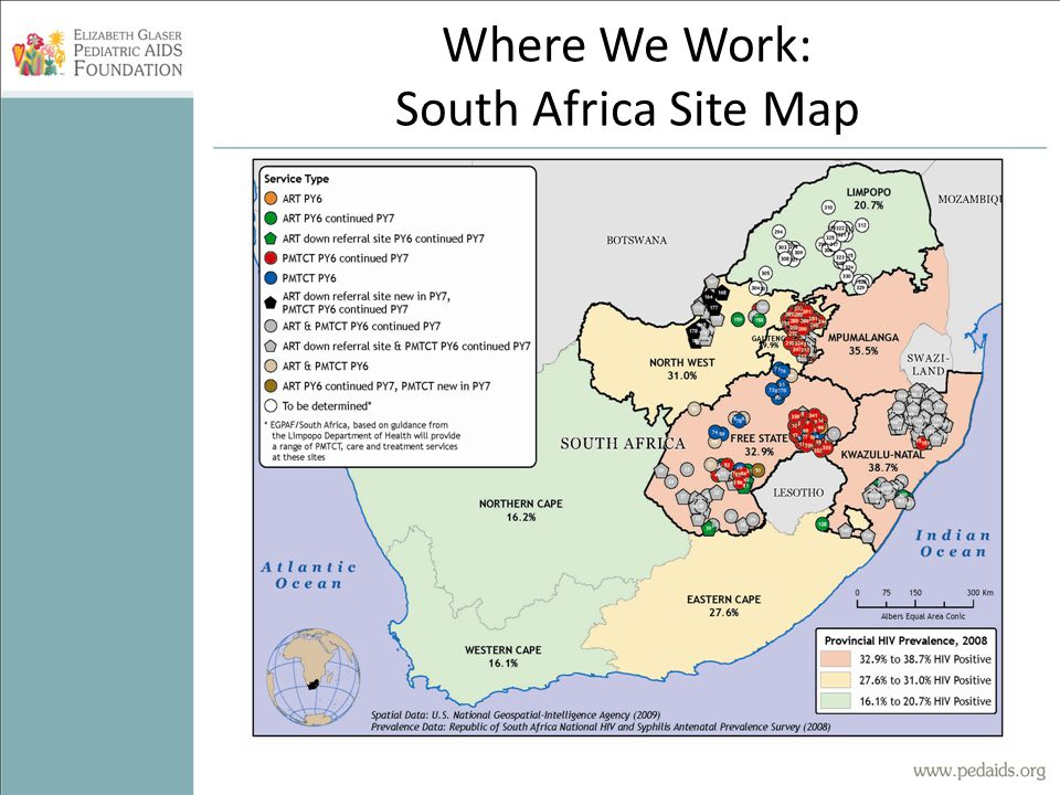 Where We Work: Tanzania Site Map