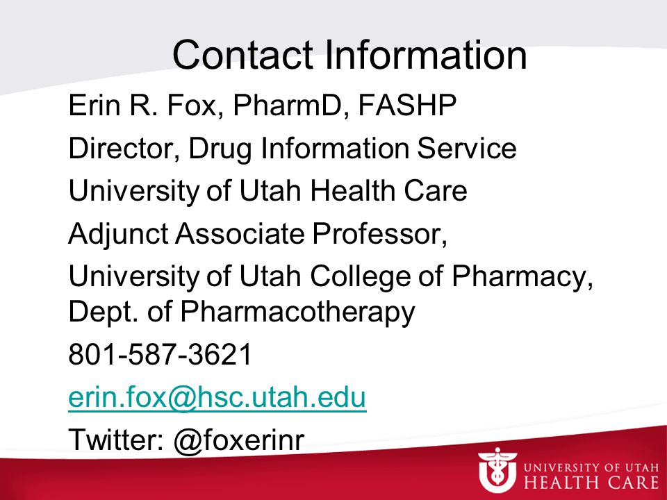 Contact Information Erin R.