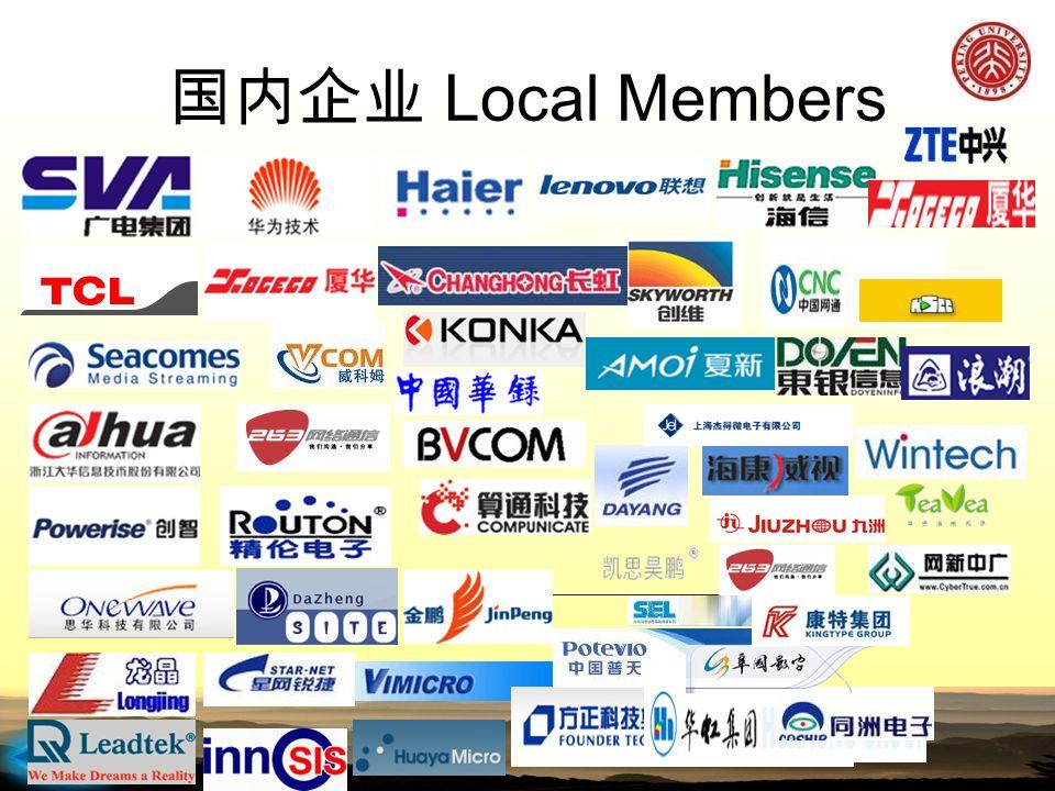 2015-4-12 国内企业 Local Members