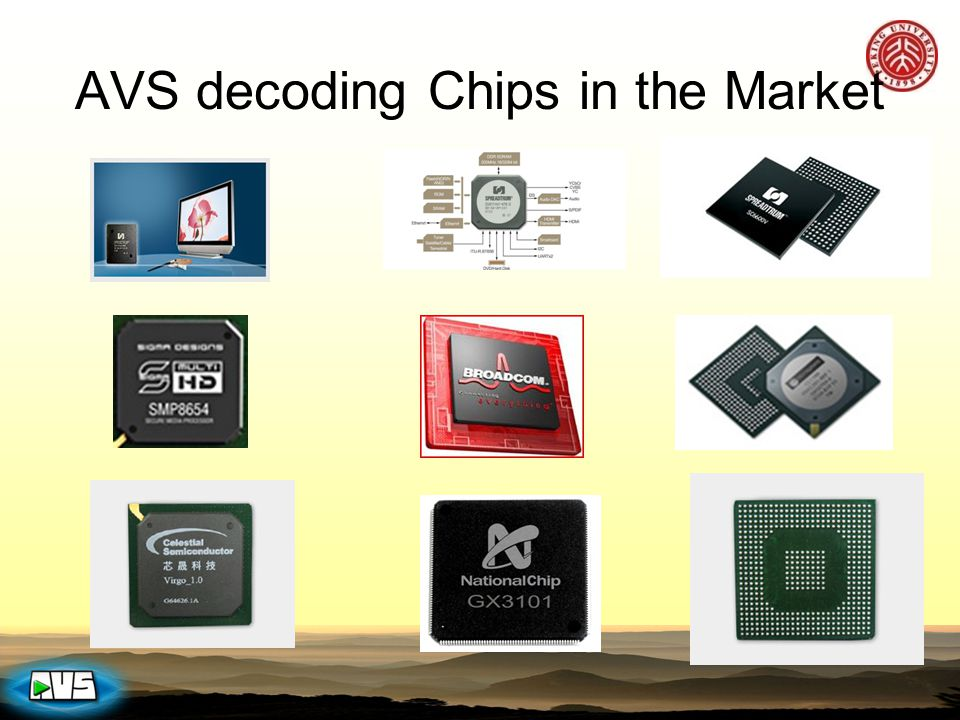 AVS decoding Chips in the Market