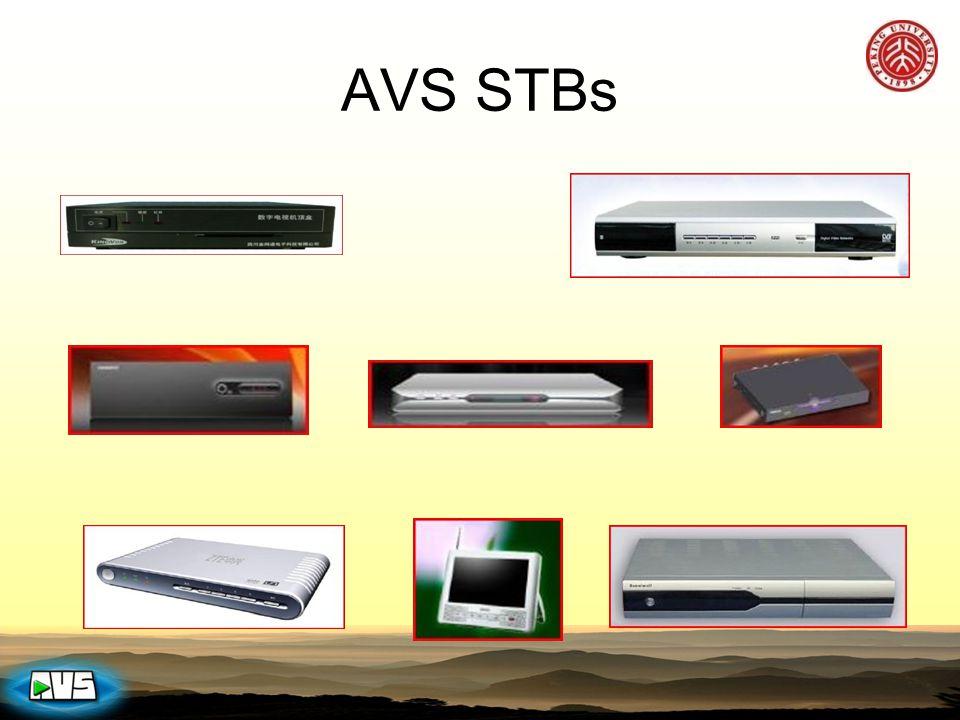 AVS STBs