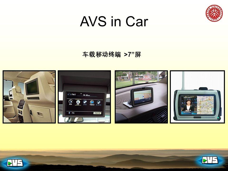 车载移动终端 >7 屏 AVS in Car