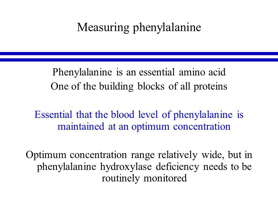 Measuring phenylalanine phenylalanine 3D structure