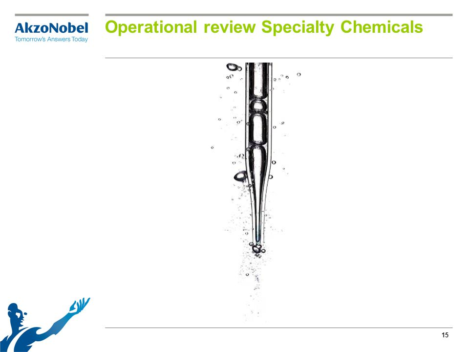 15 Operational review Specialty Chemicals