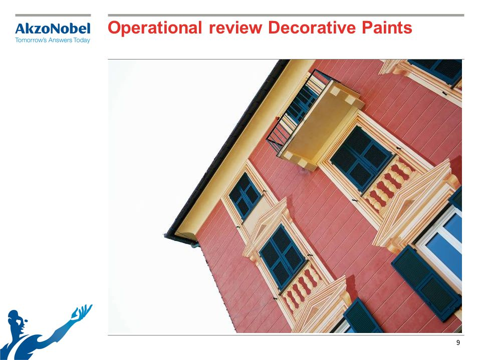 9 Operational review Decorative Paints