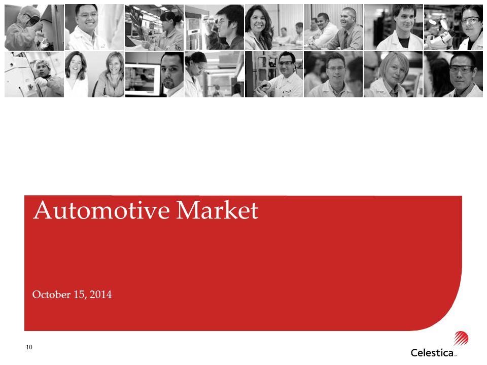 10 Automotive Market October 15, 2014