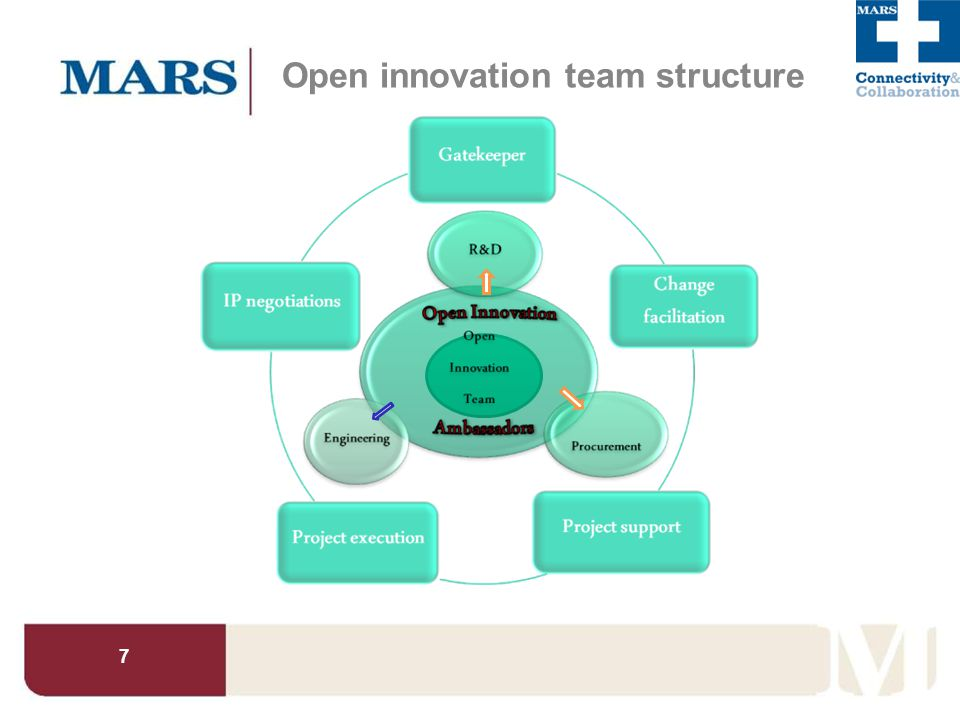 7 Open innovation team structure