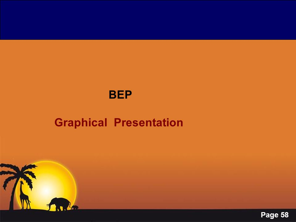 Page 58 BEP Graphical Presentation