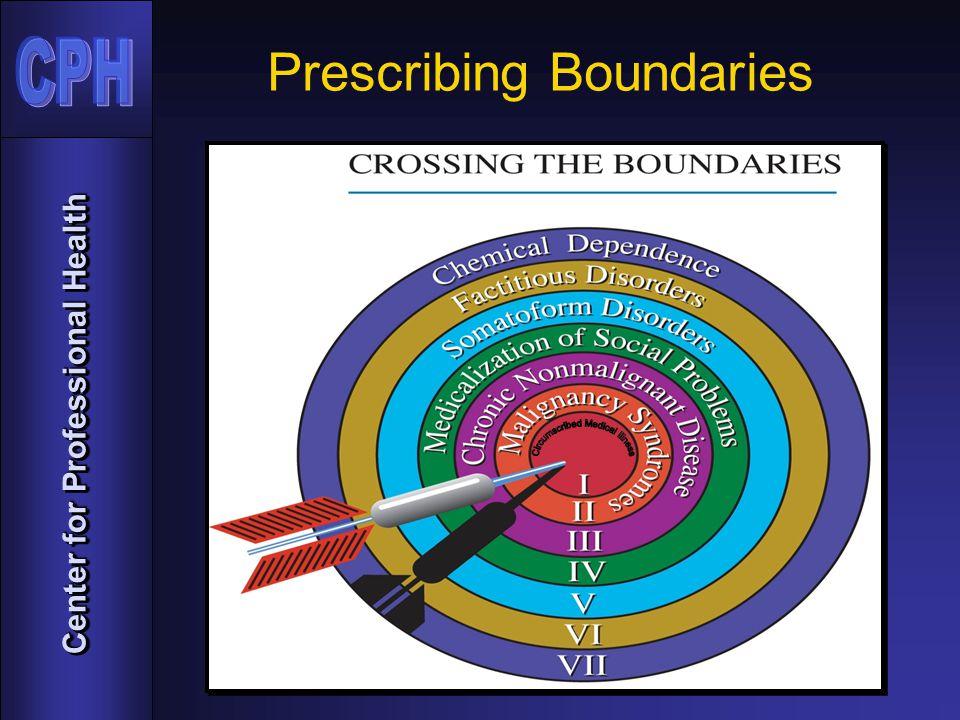 Center for Professional Health Prescribing Boundaries