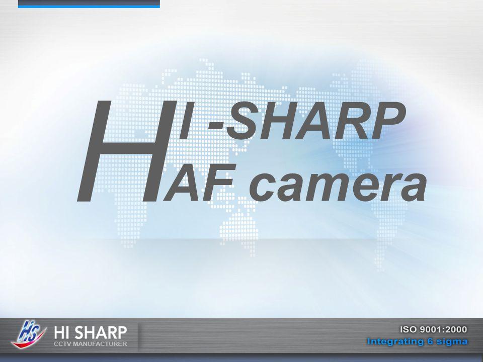 H I -SHARP AF camera