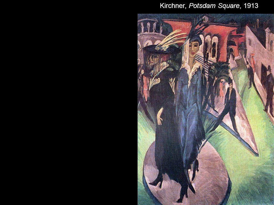 Kirchner, Potsdam Square, 1913