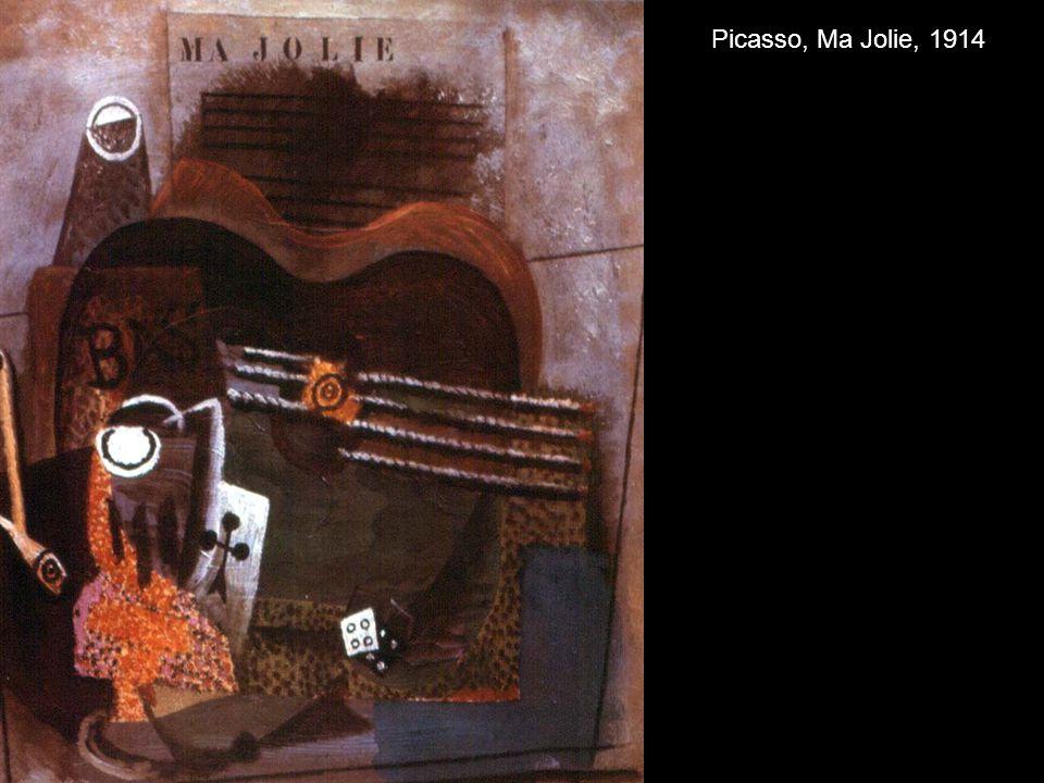 Picasso, Ma Jolie, 1914