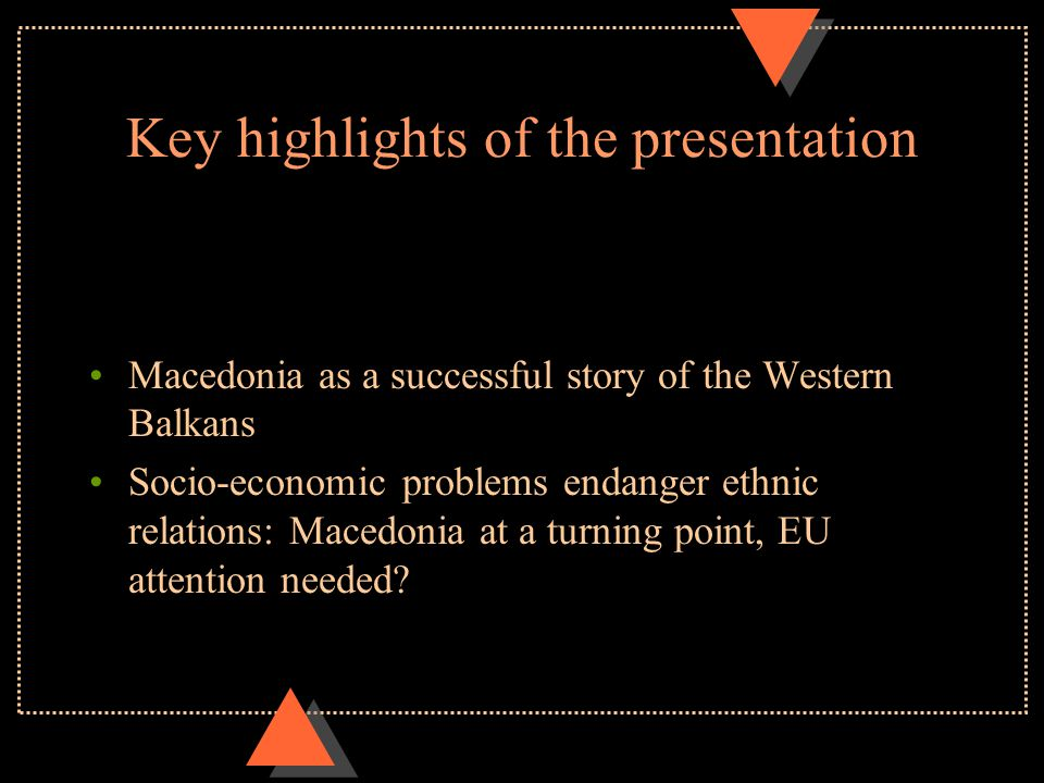INTRODUCING MACEDONIA Glorious past in the time of Alexander the Great; Since 168 A.D.