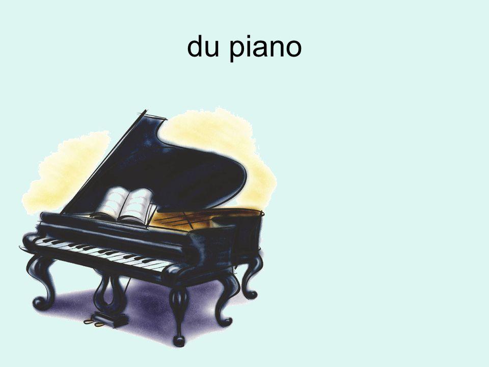 du piano