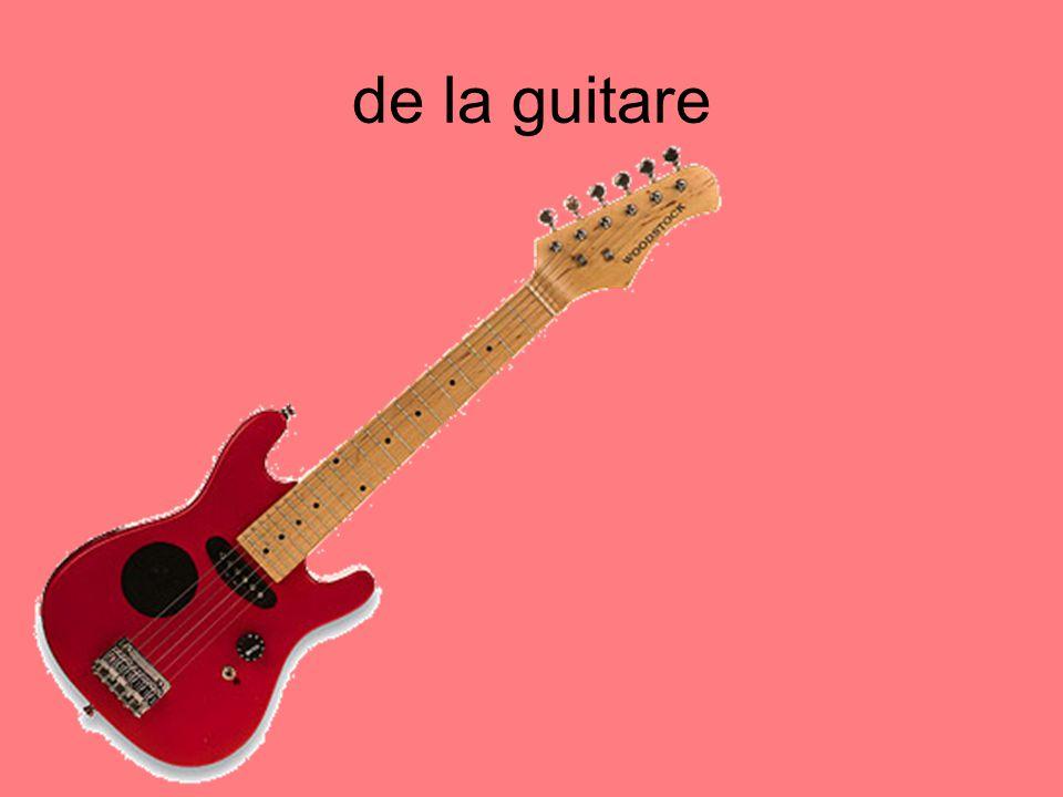 de la guitare
