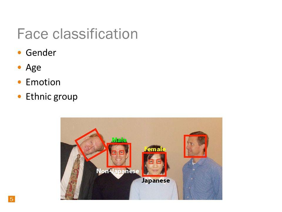 16 Classification Learning: AdaBoost Classifications: Local Binary Patterns, EigenFaces, etc.
