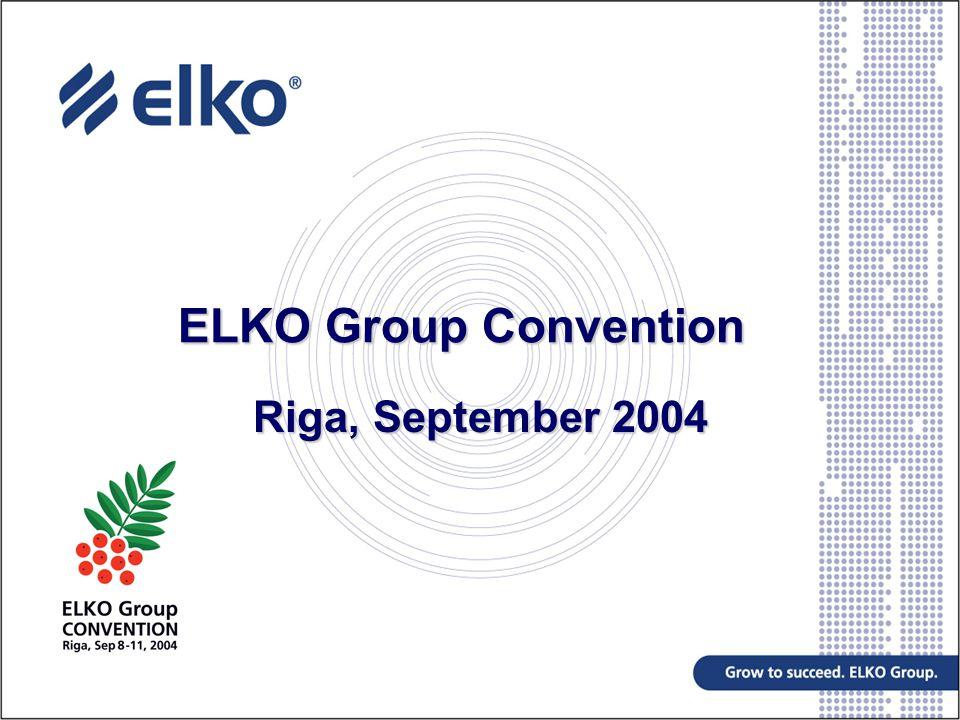 Agenda Regional Economic Overview CEE and EU effect Russian Market Elko Group Update Future developments
