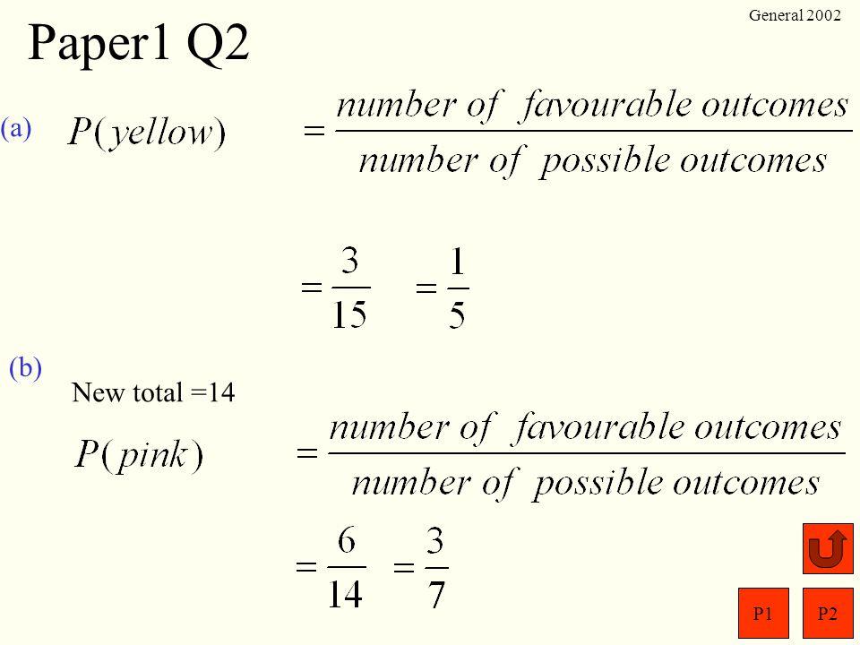 P1P2 General 2002 Paper1 Q1 (a) 9.2 - 3.71 0 11. 8 94 1 5 5.49 + 6.47 1.6911 7.29 x 8 2385 72 (b). (c) 6 8 7 300=6 8 7 100 3 229. 6.873 2 (d)