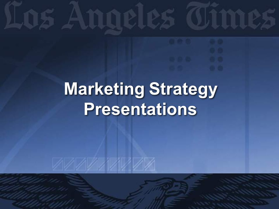 Marketing Strategy Presentations Marketing Strategy Presentations