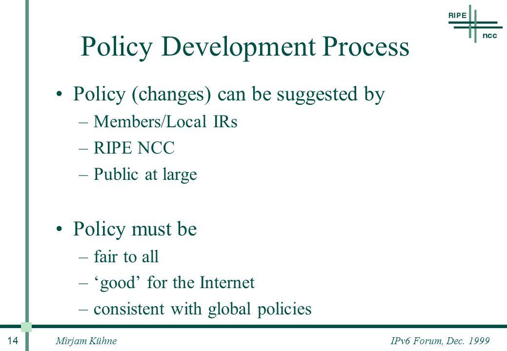 IPv6 Forum, Dec.