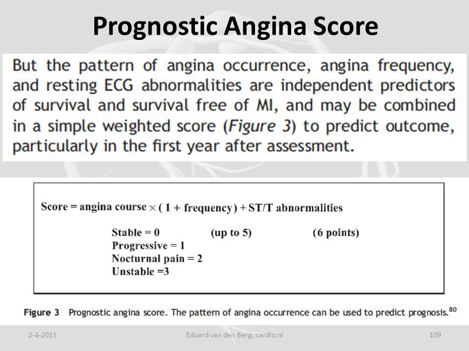 Prognostic Angina Score 2-4-2015Eduard van den Berg, cardio.nl109