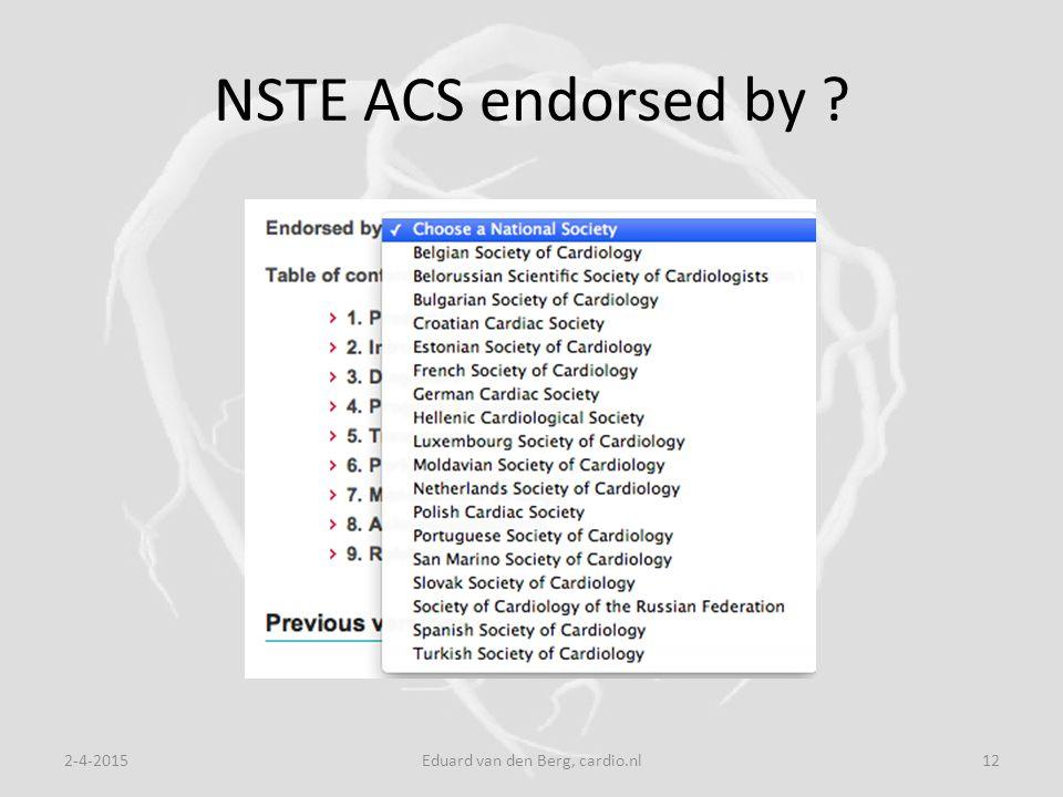 NSTE ACS endorsed by 2-4-2015Eduard van den Berg, cardio.nl12